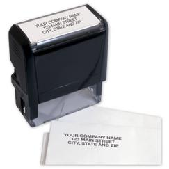 Name and Address Stamp - Self-Inking