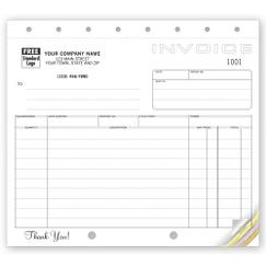 Shipping Invoices, Classic Design, Small Format