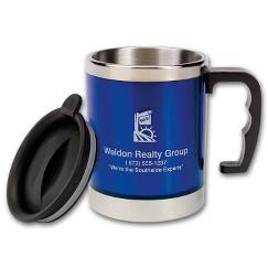 Stainless Desk Mugs