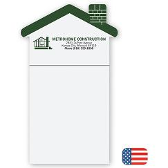 BIC House Notepad Magnets