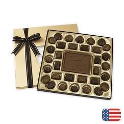 Milk Chocolate Truffle Gift Box - 16 oz.