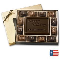 Dark Chocolate Truffle Gift Box - 8 oz.