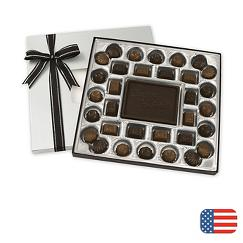 Dark Chocolate Truffle Gift Box - 16 oz.