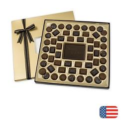 Dark Chocolate Truffle Gift Box - 24 oz.