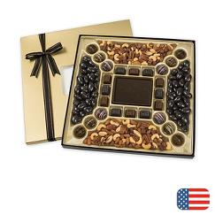 Premium Confection Assortment with Truffles 36 oz Dark Choc
