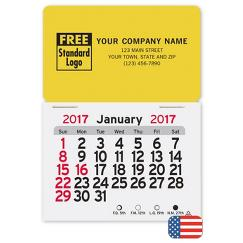 Monthly Magnetic Rectangle Calendar