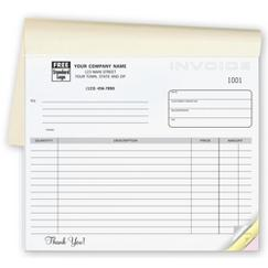Invoices - Classic Small Lined Booked