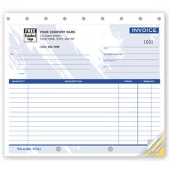 Invoices - Small Lined