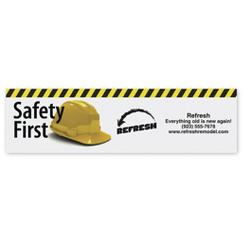 Safety Bumper Sticker