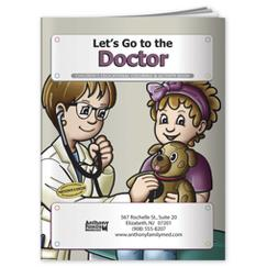Let's Go To The Doctor Coloring Book