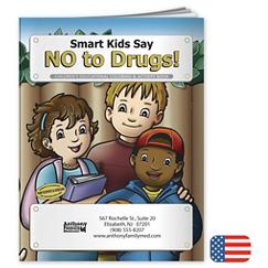 Say No To Drugs Coloring Book