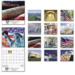 Celebrate America Mini Wall Calendar