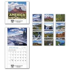 Landscapes of America Mini Wall Calendar