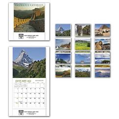 Glorious Get Aways Mini Wall Calendar
