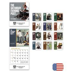 The Saturday Evening Post Mini Wall Calendar