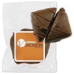 2 pc Chocolate Caramels Bag