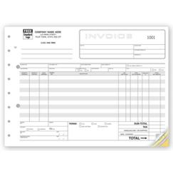 Classic, Wide Body Wholesalers Invoices
