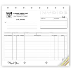 Classic, Small Shipping Invoices