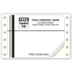 First Class Mail, Mailing Labels, Continuous, White