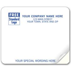 Mailing Labels, Laser and Inkjet, White