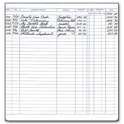 Executive Deskbook Register
