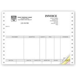 Invoices, Continuous, Classic