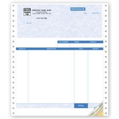 Service Invoices, Continuous, Parchment - Quickbooks Compatible