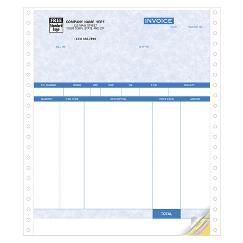 Product Invoices, Continuous, Parchment - Quickbooks Compatible