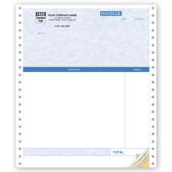 Continuous Professional Invoice Parchment - Quickbooks Compatible
