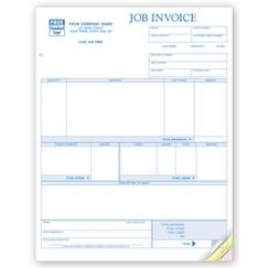 Job Invoices, Laser - Form Magic Compatible