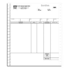 Classic Continuous Service Invoice