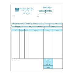 Classic Laser and Inkjet Inventory Invoice
