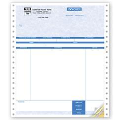 Service Invoices, Continuous, Parchment
