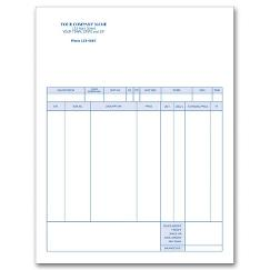 Classic Laser and Inkjet Invoice