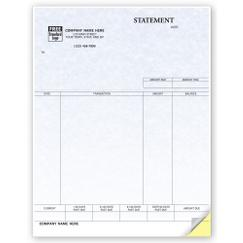 Statements, Laser, Parchment - Quickbooks Compatible
