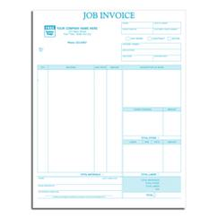 Classic Laser and Inkjet Job Invoice