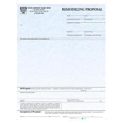 Laser Remodeling Proposal Parchment