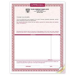 Laser Appraisal Form Parchment