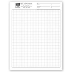 Graph Papers, Standard 1/4, Sheets