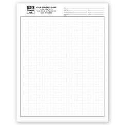 Graph Papers, Standard 1/4, Padded