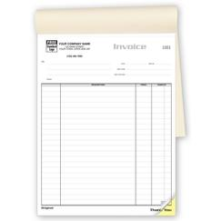 Job Invoices - Classic Large Booked