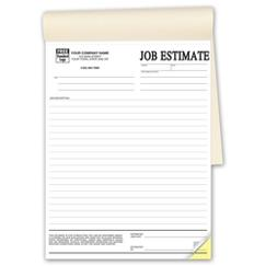 Job Estimates - Booked