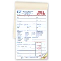 Service Orders, Road/Towing, Booked, Small Format