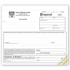 Proposals - Compact Carbonless