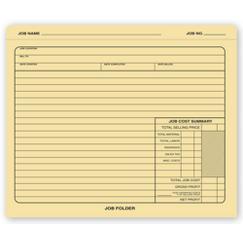 Manila Folder - Job Folder