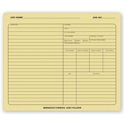 Manufacturers Job Folder
