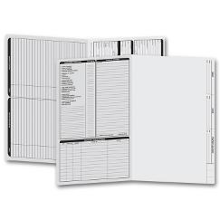 Real Estate Folder, Left Panel List, Legal Size, Gray