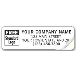 Advertising Labels, Padded, Transparent Poly