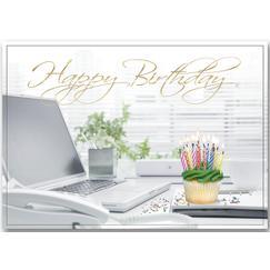Uptown Celebration Birthday Cards