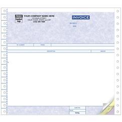 Continuous Invoice - Parchment